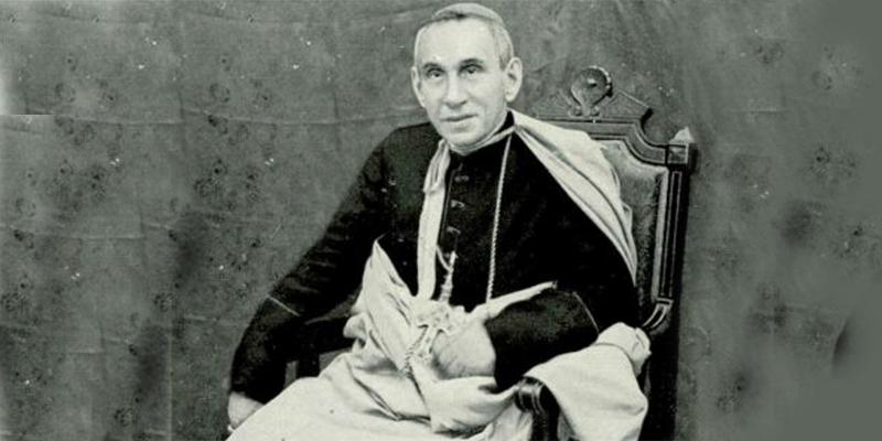 Visita inesperada del Obispo en 1938